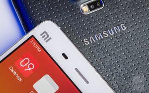 Samsung, Xiaomi, smartphones, India