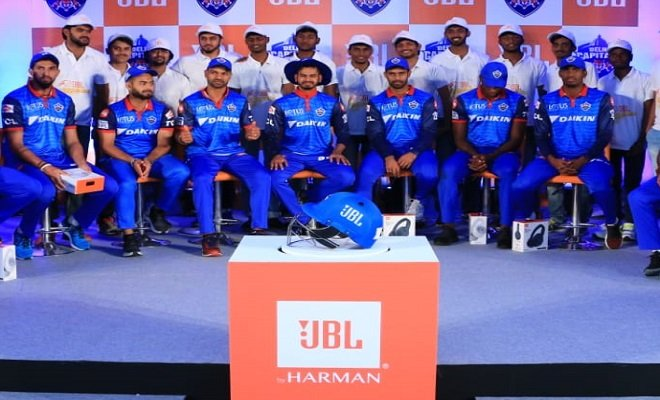 Jbl Ties Up With Delhi Capital S Ipl Team Ace