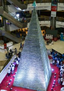 On January 19 , 2019 Preethi Kitchen Appliances broke the Guinness World Record for the Tallest Tower of Cupcakes with a 41.8 feet tower with 18,818 ...